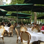 Photo taken at Bryant Park Grill by Janelle B. on 6/24/2012