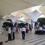 Photo taken at Chhatrapati Shivaji International Airport (BOM) by Andreas E. on 9/24/2013