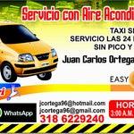 Si vienes a Bucaramanga y deseas un taxi seguro no olvides llamarnos servicio por horas, servicio con aire acondicionado