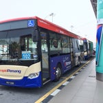 If you stay near Komtor and not in hurry, it can save you a lot by taking bus at only RM2.7 !