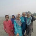 Photo taken at Bagan Lalang Seaview by Eja S. on 7/28/2014