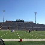 Photo taken at Tully Stadium by Valerie V. on 11/18/2012