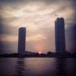 Photo taken at ท่าเรือพายัพ (Payap Pier)  N18 by shanti c. on 4/29/2014