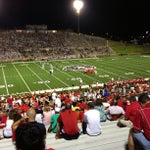 Photo taken at Tully Stadium by Ted P. on 9/8/2013