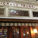 Photo taken at Grand Trunk Pub by timothy w. on 12/26/2012