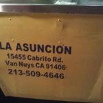 Photo taken at La Asuncion Taco Truck by Manny C. on 9/4/2011