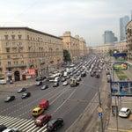 Photo taken at Большая Дорогомиловская улица by Denis L. on 7/11/2012