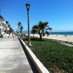 Photo taken at Manhattan Beach by Petra S. on 7/20/2012