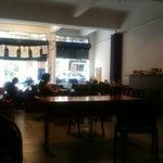 Photo taken at Nasawiya Café by Nadine M. on 6/20/2012