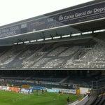 Photo taken at Estádio D. Afonso Henriques by João Filipe S. on 5/12/2012