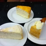 Photo taken at Nadeje Cafe by Rachel W. on 4/18/2012
