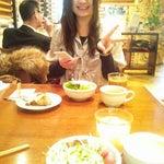 Photo taken at Bistro Biya (びすとろ麦家) by N M. on 3/27/2012