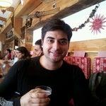 Photo taken at La Paillote by Berkan U. on 1/28/2012
