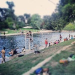 Photo taken at Barton Springs Pool by Dustin B. on 8/25/2012