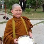Photo taken at วัดพระราม ๙ กาญจนาภิเษก (Rama IX Golden Jubilee Temple) by Noy J. on 5/7/2012