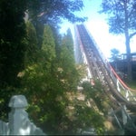 Photo taken at Canobie Yankee Cannon Ball by James D. on 9/17/2011