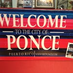 Welcome to the city of Ponce
