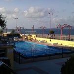 Photo taken at R.S.D. Hípica da Coruña by Cuatro E. on 7/14/2012