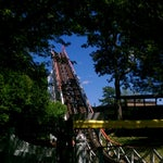 Photo taken at Canobie Yankee Cannon Ball by Matthew K. on 7/9/2012