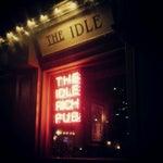 Photo taken at Idle Rich Pub by David W. on 4/27/2012