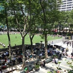 Photo taken at Bryant Park Grill by Zack P. on 6/14/2012