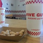Photo taken at Five Guys by Ray A. on 9/3/2012
