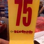 Photo taken at Kebab Fil-Sian-Grill by Mon F. on 8/30/2012