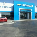 Photo taken at Ron Westphal Chevrolet by Roza M. on 7/19/2012