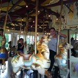 Photo taken at Congress Park Carousel by Jennifer C. on 9/8/2012