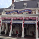 Photo taken at The American Adventure by Rick D. on 3/29/2012