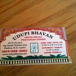 Photo taken at Udupi Bhavan by Lauren J. on 7/14/2012