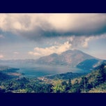 Photo taken at Batur View Spot by Aleksandra N. on 9/8/2012