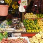Photo taken at Pasar Chowkit by OnE K. on 5/21/2012