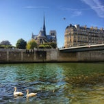 Photo taken at La Seine by Mathieu M. on 9/8/2012