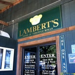 Photo taken at Lambert's Cafe by Hannah D. on 6/8/2012