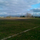 Photo taken at Campo De Fútbol Del Sporting Club Casino by Juan ツ. S. on 12/6/2011