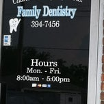 Photo taken at Charles A. Haydel, Family Dentistry by Michelle P. on 5/22/2012