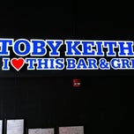 Photo taken at Toby Keith's I Love This Bar & Grill by Allan A. on 8/4/2012