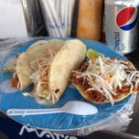 Photo taken at Marisma Fish Taco - Vallarta Centro by alvaro g. on 7/21/2012