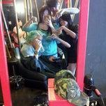 Photo taken at Black Hair Studio by Janice K. on 7/21/2012