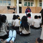 Photo taken at Unggul Sakti Senior High School by Widya F. on 3/24/2012
