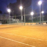 Photo taken at Tennis Dei Pini by Elisa T. on 5/15/2012