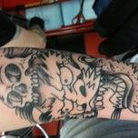 Photo taken at Atomic Tattoo by Jimmy B. on 3/11/2013