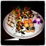 Photo taken at Blu Sushi by Jonathan D. on 10/19/2012