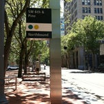 Photo taken at TriMet SW 6th & Pine St MAX Station by Samantha F. on 6/30/2013