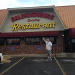 Photo taken at Baldknobbers Country Restaurant & Buffet by Erica B. on 5/8/2014