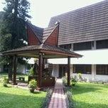 Photo taken at Museum Sumatera Utara by Nourissafaat J. on 7/27/2013