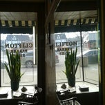 Photo taken at Clifton Barber Shop by Ray F. on 12/27/2013