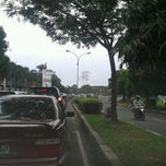 Photo taken at Jalan Juanda by Alfanso M. on 1/31/2014