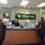 Photo taken at TD Canada Trust by Audie on 3/27/2013
